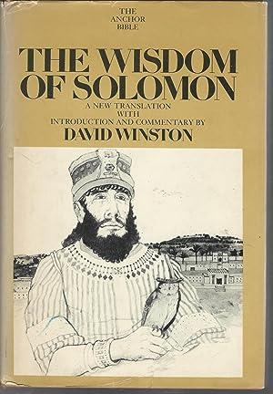 The Wisdom of Solomon (The Anchor Bible: Winston, David (Editor)