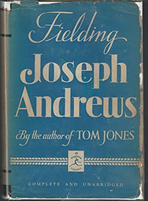 The History of the Adventures of Joseph: Fielding, Henry