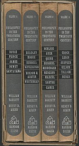 Philosophy In the Twentieth Century: An Anthology In Four Volumes (4 Volumes in Slipcase): Barrett,...
