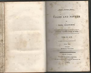 Moral Tales: Novels and Tales Volumes III & IV (Bound Together as Volume III of the Ten Volume ...