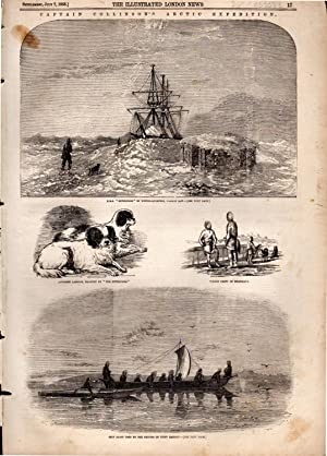 "ENGRAVING: ""Captain (Richard) Collinson's Arctic Expedition"" .engraving from The ..."