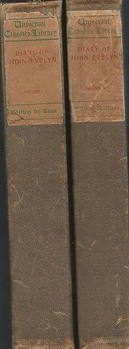 The Diary of John Evelyn (2 volumes): Evelyn, John) Bray,