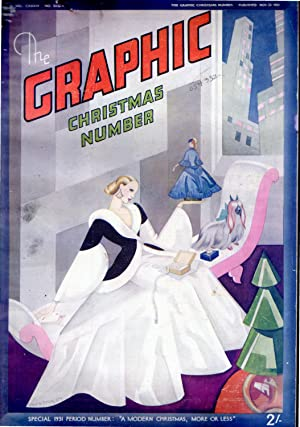 """The Graphic Christmas Number Special 1931 Period Number """"A Modern Christmas, More or Less"""" ..."""