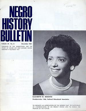 The Negro History Bulletin: Volume 30 (XXX): Wesley, Charles H.