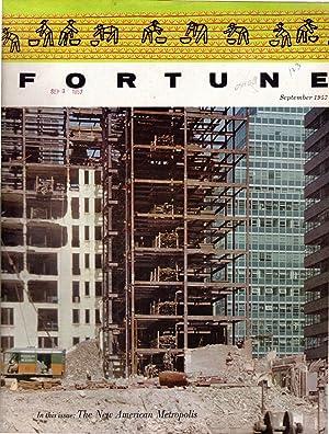Fortune Magazine, Volume LVI, No. 3: September, 1957: Fortune Magazine