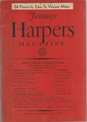 Harpers (Harper's) Magazine: No. 1040: January, 1937: Hartman, Lee F. (Editor)
