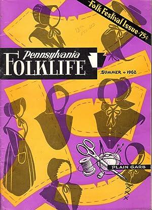 Pennsylvania Folklife: Volume 12, No. 4: Summer,: Shoemaker, Alfred L.