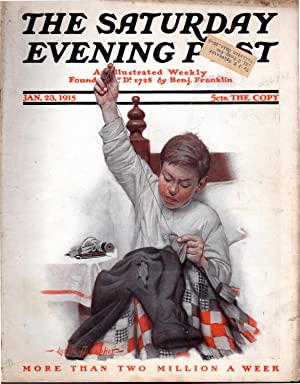 The Saturday Evening Post: An Illustrated Weekly, Volume 187, No. 30: January 23, 1915: Lorimer, ...