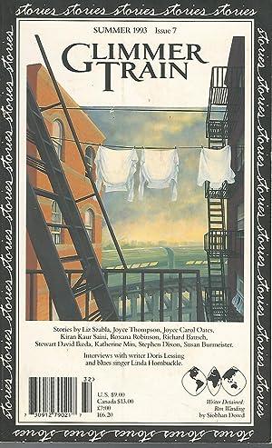 Glimmer Train Stories: Summer, 1993: Issue 7: Burmeister-Brown, Susan &