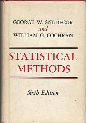 Statistical Methods: Snedecor, George W.