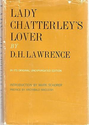 Lady Chatterley's Lover: Lawrence, D.H.(David Herbert