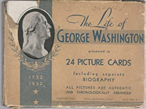 EPHEMERA: The Life of George Washington Presented in 24 Picture Cards, Including Separate Biogaphy:...