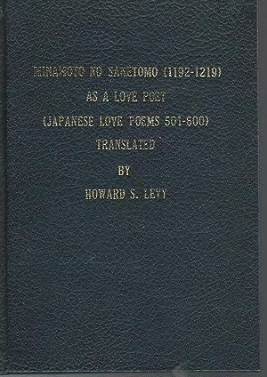 Minamoto No Sanetomo (1192-1219) as a Love: Levy, Howard S