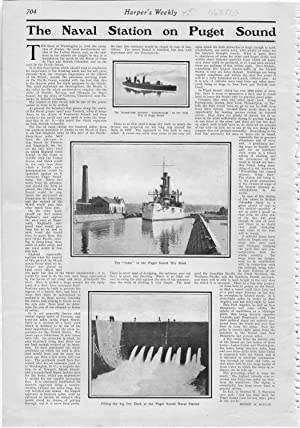 "PRINT: ""The Naval Station on Puget Sound)"".story: Mahan Dennis H.)"