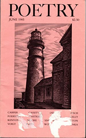 Poetry: Volume CXLVI, No.1: June, 1985: Parisi, Joseph (Editor)