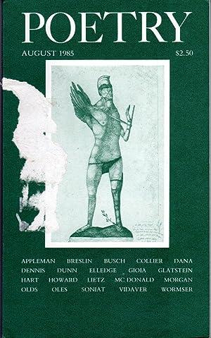 Poetry: Volume CXLVI, No.5: August, 1985: Parisi, Joseph (editor)