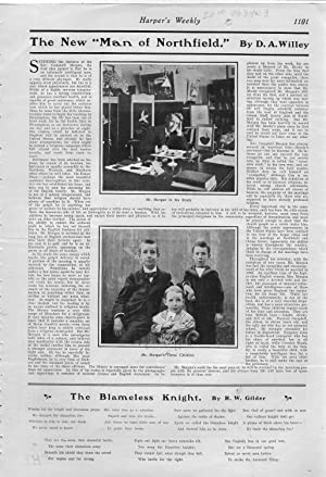 "PRINT: ""The New 'Man or Northfield'"".story & photos from Harper's Weekly, ..."
