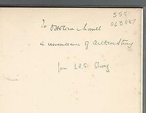 Sandford Arthur Strong: Strone, Sandford, Arthur) Reahy, Donald James Mackay, 11th Lord Reay