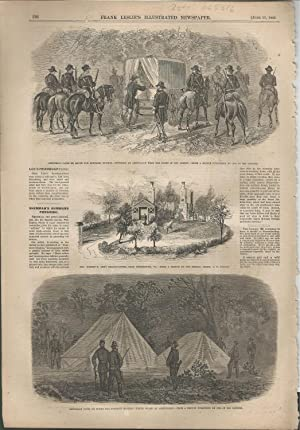 "ENGRAVING: ""Jefferson Davis En Route for Fortress Monroe"".engravings from Frank Leslie&#..."