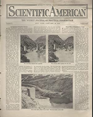 Scientific American: Volume CXX, No.3: January 18, 1919: Unknown Editor) Scientific American