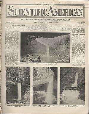 Scientific American: Volume CXXX, No. 1: January 4, 1919: Unknown Editor) Scientific American