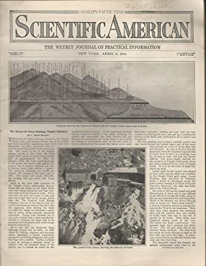 Scientific American: Volume CXX, No.14: April 5, 1919: Unknown Editor) Scientific American