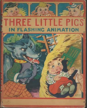 Three Little Pigs In Flashing Animation: Hart, Hank