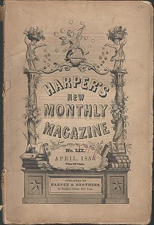 Harper's New Monthly Magazine, Volume XIL, No. LIX (59): April, 1856: Harper's New Monthly ...
