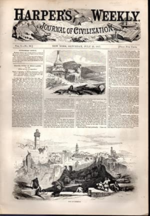 Harper's Weekly: Journal of Civilization: Vol. 1, No.30: July 25, 1857: Harper's Weekly