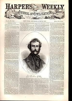 Harper's Weekly: Journal of Civilization: Vol. 1, No. 24: June 13, 1857: Harper's Weekly