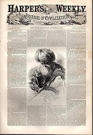 Harper's Weekly: Journal of Civilization: Vol. 1, No.33: August 15, 1857: Harper's Weekly