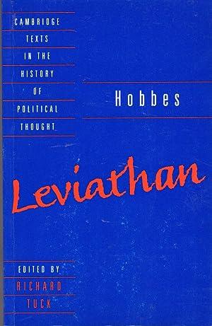 Leviathan ( (Cambridge Texts in the History: Hobbes, Thomas) Tuck,
