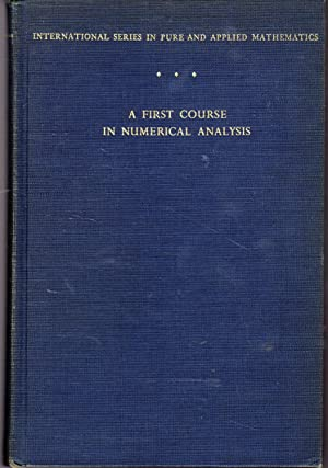 A First Course in Numerical Analysis (International: Ralston, Anthony.
