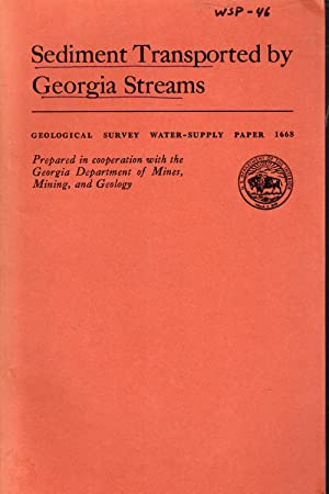 Sediment Transported By Georgia Streams; (Geological Survey Water-Supply Paper 1668): Kennedy, ...