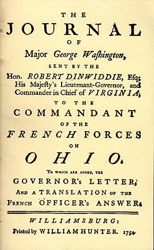 The Journal of Major George Washington. An: Washington, George) Short,