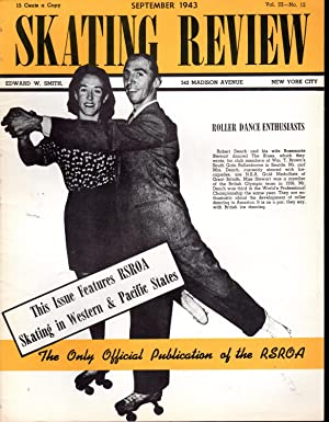 Skating Review, Volume III, No. 12: September,,1943: Smith, Edward W. (Editor/Publisher)