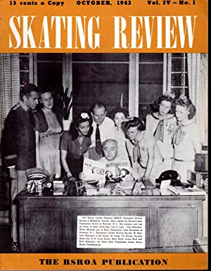 Skating Review, Volume IV, No. 1: October,,1943: Smith, Edward W. (Editor/Publisher)