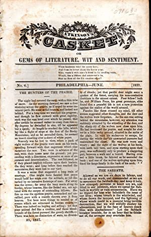 Atkinson's Casket, or gems of Literature, Wit, and Sentiment. June, 1837. No. 6: Atkinson, ...