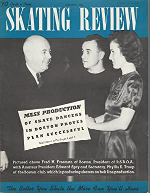 Skating Review Magazine: Volume II, No.2: January, 1942: Smith, Edward W. (editor & publisher)