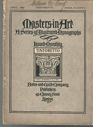 MASTERS IN ART: A Series of Illustrated: Tintoretto) Editor Unknown