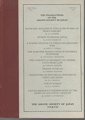 The Transactions of the Asiatic Society of: Asiatic Society of