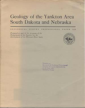 Geology of the Yankton Area South Dakota and Nebraska: Simpson, Howard E