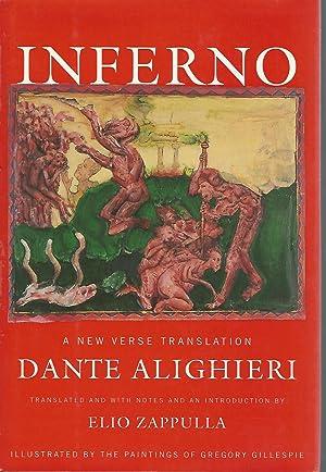 Inferno: A New Verse Translation: Alighiere, Dante) Zappulla,