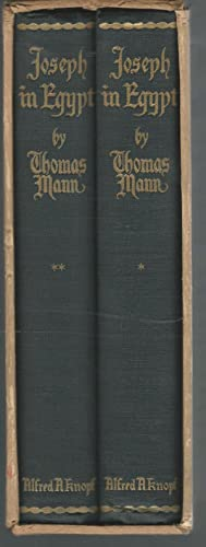 Joseph in Egypt (2 Volumes in slipcase): Mann, Thomas