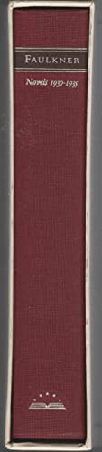 Novels 1930-1935: As I Lay Dying; Sanctuary;: Faulkner, William Pseud.)