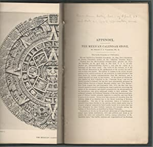 The Mexican Calendar Stone.Appendix to the American Antiquarian Society Proceedings, 24 April, 1878...