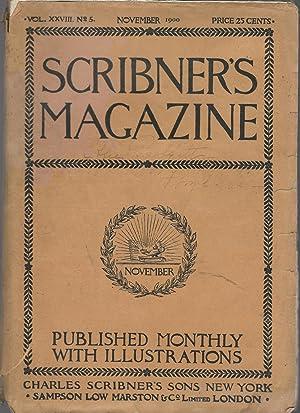 Scribner's Magazine; Volume XXVIII, No. 5: November, 1900: Burlingame, Edward (editor)