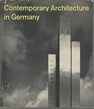 Contemporary Architecture in Germany: Marschall, Werner) Palmes, James (trans)