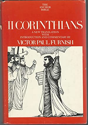 II Corinthians (The Anchor Bible Series, Volume: Furnish, Victor Paul