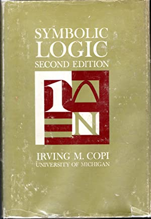 Symbolic Logic By Irving M Copi First Edition Abebooks